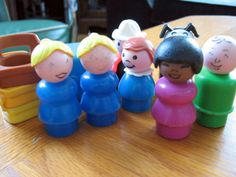 1970s Fisher Price Little People