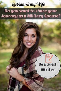 Do you have a unique Military story you want to share? Here is your chance, email me at lesbianarmywife@gmail.com and we can make this happen. Share with the world your journey! #milspouse #milso #lesbian #military #lgbt