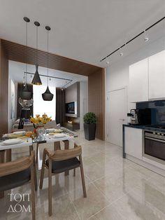 Diningroom design by TopDom / Дизайн интерьера столовой от компании ТопДом #design #render #diningroomideas