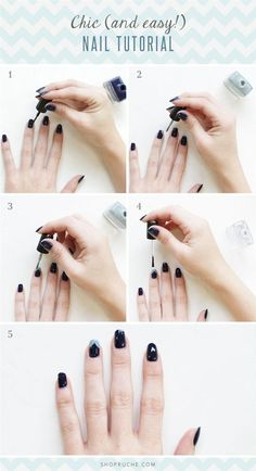 Chic Nail Art Tutorial