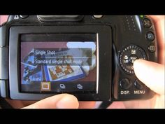 Canon Powershot SX40 HS Tutorial: Step Eleven - Shortcut Button and Functions