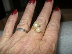 My eBay Active My Ebay, Class Ring, Wedding Rings, Engagement Rings, Pearls, Stuff To Buy, Accessories, Vintage, Jewelry