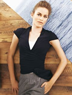 Schnittmuster: Wickelshirt - Shirts - Damen - burda style