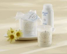 """""""Heaven Scent"""" Baby Powder Fresh Frosted Glass Votive - Baby Shower Favors For Guests - Favors Baby Shower Cadeau Baby Shower, Best Baby Shower Favors, Baby Shower Favours For Guests, Baby Shower Candle Favors, Baby Shower Parties, Baby Showers, Shower Party, Shower Gifts, Bridal Shower"""
