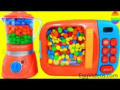 Microwave and Blender Just Like Home Kitchen Toy Appliances and Surprise Eggs My Little Pony & Cars - YouTube
