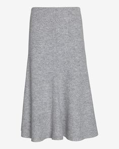 Nicholas EXCLUSIVE Felted Wool Flared Skirt | Shop IntermixOnline.com