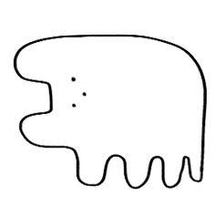 개개벌레 벌레 벌레 콘 Simple Illustration, Character Illustration, Simple Character, Character Design, Be The Creature, Tatuagem Old School, Japanese Characters, Vintage Cartoon, Art Sketchbook