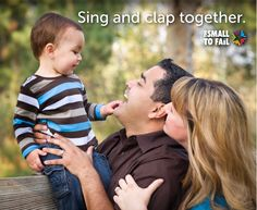 Among the many other benefits of music for young brains, practicing rhythm and melody helps children understand patterns. For more math tips --> http://toosmall.org/blog/talk-read-sing-seven-ways-for-parents-to-build-early-math-literacy