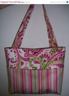 SALE Aivilo Tote Bag   easy PDF Purse Sewing by aivilocharlotte, $5.60