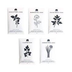 Herb Seeds - Pack of 5 Organic Packaging, Seed Packaging, Spices Packaging, Packaging Ideas, Different Types Of Seeds, Herb Seeds, Organic Seeds, Herbs Indoors, Medicinal Plants