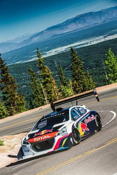 Sebastien Loeb just crushed the Pike's Peak record by putting up a time of 8:13.878!!