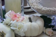 All White Fall Table and Buffet