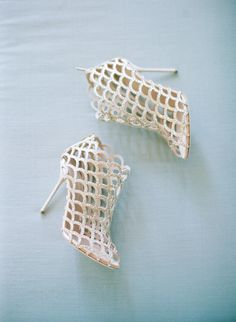 Featured Photographer: Elizabeth Messina Photography; wedding shoes idea