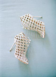 Featured Photographer: Elizabeth Messina Photography; wedding shoes idea