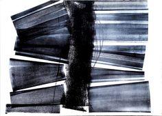 Hans HARTUNG (1904-1989) Composition L20 - 1973 - Lithographie en