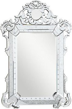 Elegant Lighting MR-2016C, Venetian Mirror, Hollywood Regency, Glam, $478