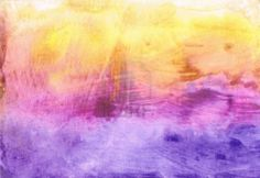 Beautiful watercolor background in vibrant yellow, magenta and purple  Stock Photo - 9328312