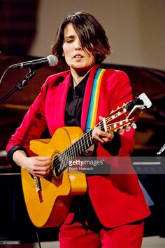 British singer Tanita Tikaram performs live during a concert at the Passionskirche on March 7, 2016 in Berlin, Germany.