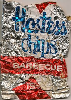 Hostess 15 cent foil bag - BBQ by joad_henry, via Flickr