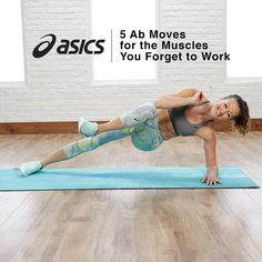 Treat your core to a little TLC with these 5 fast ab moves from PopSugar Fitness.
