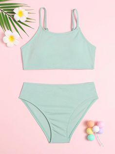 Swimsuits For Teens, Kids Swimwear, Cute Swimsuits, Cute Bikinis, Bikini Outfits, New Outfits, Hot Suit, Mode Du Bikini, Kids Suits