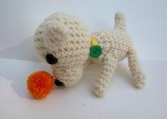 amigurumi puppy wool crochet dog doll for your by MNPrairieCrafts, $12.50