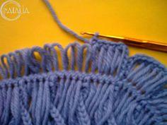 Мобильный LiveInternet МК «Цветок, связанный на вилке крючком» | вязание_шитьё_рукоделие - Дневник вязание_шитьё_рукоделие |