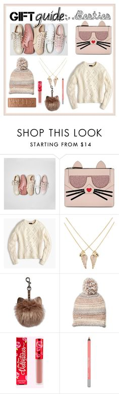 """""""bff"""" by faye-valentine on Polyvore featuring Converse, Karl Lagerfeld, J.Crew, Accessorize, Steve Madden and Urban Decay"""