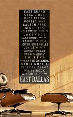 East Dallas Subway Banner