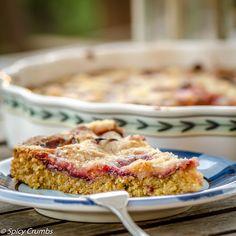 Švestkový koláč z mandlového těsta