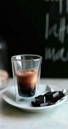 Double shots espresso