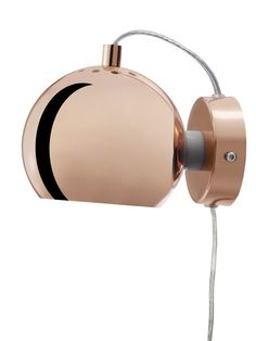 Ball Copper Wall Lamp - Spatial Lighting