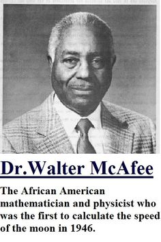 Dr. Walter McAfee