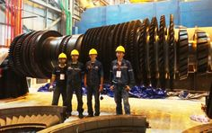 Gas Turbine : #MHI #701D Comprehensive Rotor Inspection #Turbine #Power