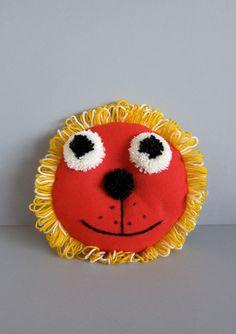 Handmade Lion Cushion #Etsy #JonathanAdler #GetChicSweepstakes