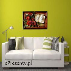 Kolejną propozycją jest elegancki obraz z naturalnej skóry, który sprawdzi się w każdej przestrzeni domu waszych rodziców. http://bit.ly/1pKWDJU