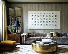 Couch please!!! where is this from??. WHITE + GOLD: SNOW INSPIRED INTERIORS