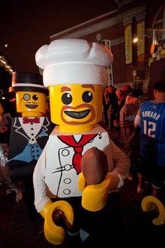 LEGO Costume - Chef Minifigure LEGO COSTUME  BlockGuys