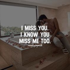 I miss you. I know you miss me too. Like and share your thoughts! ➡️ @npmusik for love quotes! #nowplayingmusik #quotes #quote #love #passion #art #feelings #relationship #relationshipgoals #couple #couples #couplegoals #lovequotes #lovequote