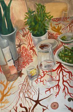 House party by Diana Dzene, oil on fibre canvas, 90cm x 60cm, March 2021. #houseparty #italiantablecloth #oiloncanvas #paintingoftheday #summerwibes @hamptonwater @martini #tablecloth #southitaly #nightout #friendsforever #oilpainting #art #arte #peintre #pittura @saatchiart #artmaze #artsy #saatchiartist #italiancorals #lifepainting House Party, House Painting, Martini, Oil On Canvas, Saatchi Art, Diana, Original Paintings, Artsy, March