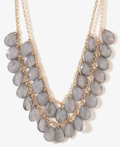 Swirled Teardrops Necklace   FOREVER21 - 1017306269