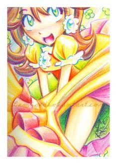 Mario: Rainbow Daisy by Lemia