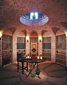 Great Home Wine Cellar Designs 11