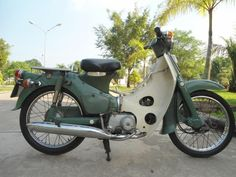 Cup 78 Antique Motorcycles, Cars And Motorcycles, 50cc Moped, Honda Cub, Mopeds, Cubs, Wheels, Bike, Classic