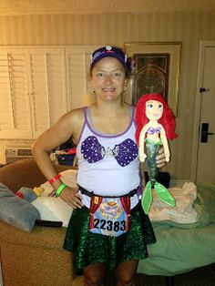 Tinkerbell 10k and Half Costume Planning