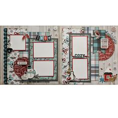 A Perfect Winter Scrapbook Layout Kit Cruise Scrapbook, 12x12 Scrapbook, Scrapbook Templates, Wedding Scrapbook, Scrapbook Layout Sketches, Scrapbooking Layouts, Bucket List Quotes, Bucket Lists, Hello Winter