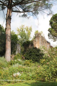 Giardino di Ninfa - rovine