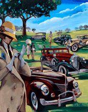 Trish Biddle Fine Art :: Classic Car Show