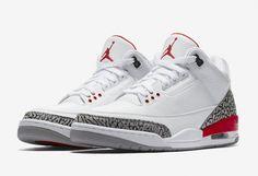 "Air Jordan 3 Retro ""Katrina"" Releasing This Week - EU Kicks: Sneaker Magazine All Nike Shoes, Kicks Shoes, Hype Shoes, Sneakers Nike, Jordan Sneakers, Orange Sneakers, Zapatos Nike Jordan, Zapatos Nike Air, Retro Jordans"