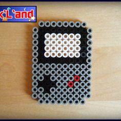 Game Boy hama midi beads by Pixel Land